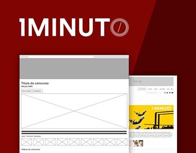 Festival do Minuto - UI Redesign