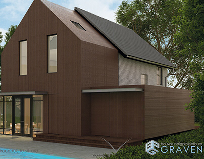 Definitief ontwerp verbouwing woonhuis.
