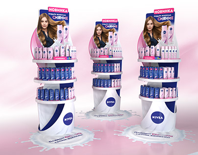 Nivea Shine Display