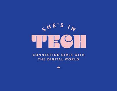She's in Tech   Event Branding