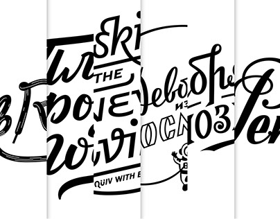 Lettering & Logo 2016