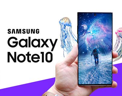 Artwork x Samsung Galaxy Note 10 - Contest