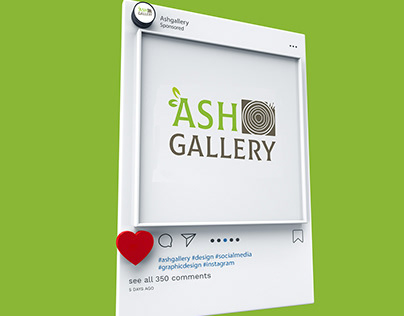 ASH GALLERY logo