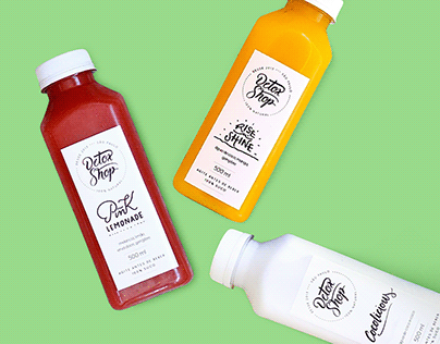 Label | DetoxShop Shot Juice