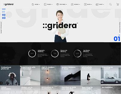 Gridera — WordPress Theme