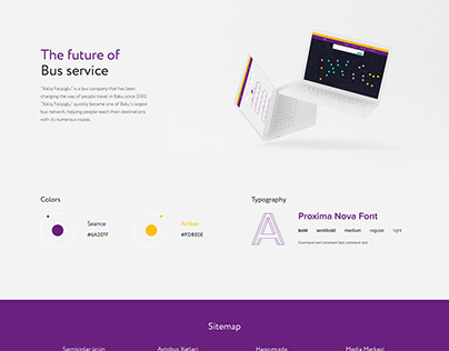 Xaliq Faiqoglu - Bus Company Website Design