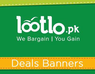 Lootlo.pk Food Deals Banners