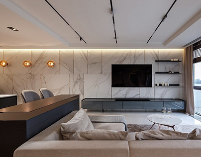 Shine Apartment by Svoya Studio