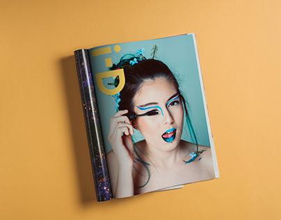 i-D Magazine - Make Up Nature Up (Reprodução)