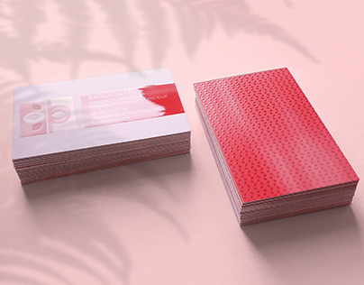 Business card - Cartes de visite + vernis sélectif 3D