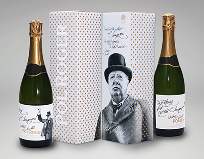 Pol Rogers Champagne Packaging