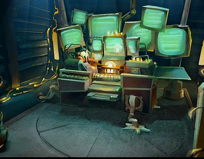 """Color script for 3D cartoon """"Quackerz"""""""