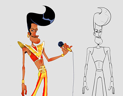 Character design and animation