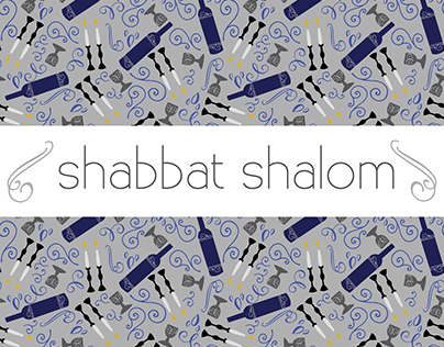 Shabbat Shalom Pattern Collection