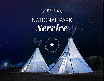 National Park Service — redesign