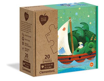 Board games and puzzle for children