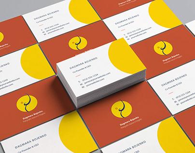 Logo design- business card- visual indentity