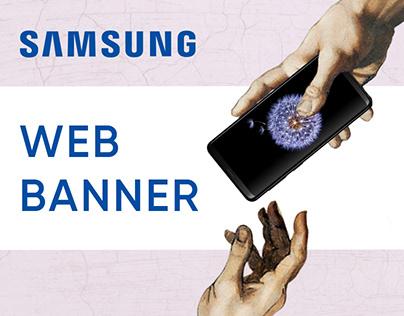 Samsung – Web Banner