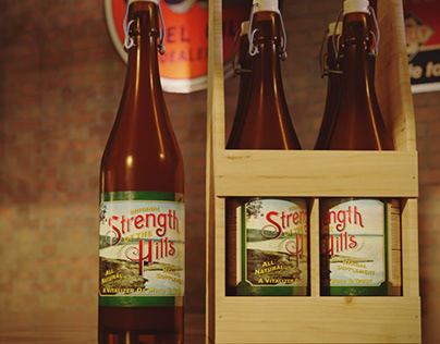 Strength of The Hills Label