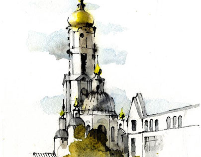 Kharkiv sketches. Наброски Харькова
