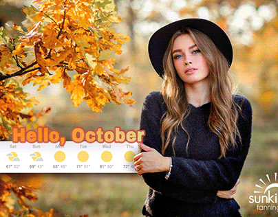 Tanning Salon October Weather Forecast