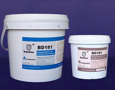 BD181 high temperature anti wear ceramic adhesive