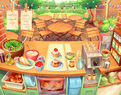 Cooking Cafe Mockup