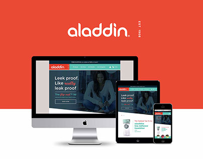 UI/UX - Aladdin Tumbler