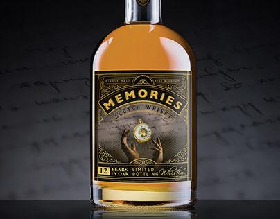 MEMORIES Scotch Whisky concept