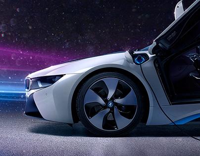 // BMW i8 - Personal work