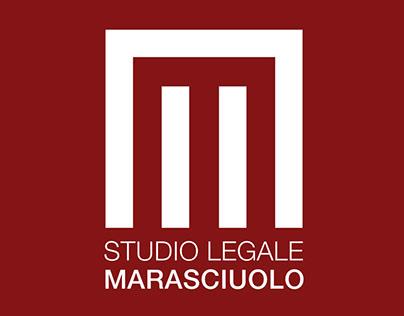 Logo e Immagine coordinata Studio legale Marasciuolo