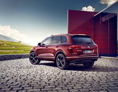 VW Touareg Executive Edition - CGI