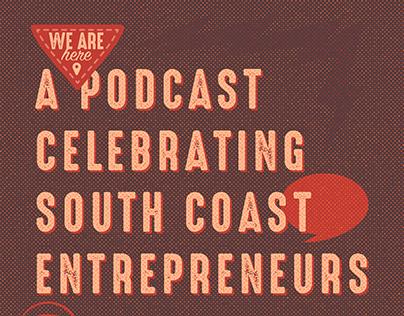 We Are Here Podcast • Social Media Branding