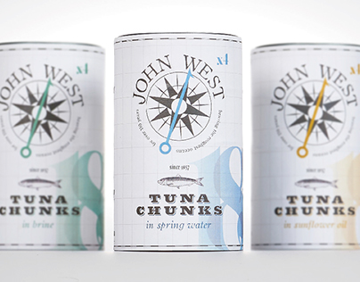 John West Tuna Rebrand