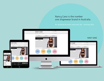 Nancy Ganz Responsive Website Design