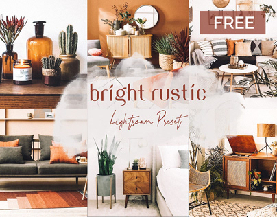 FREE Bright Rustic Mobile Lightroom Preset