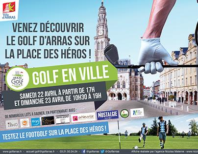 Golf En ville Arras