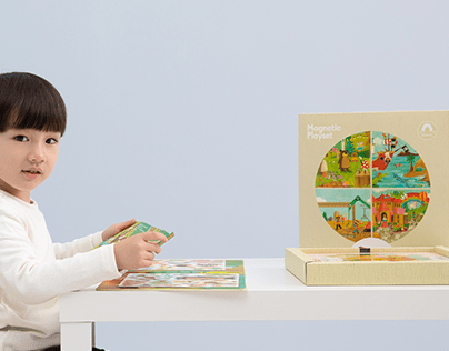 Magnetic Playset - Product & Packaging Design