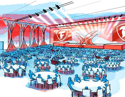 Event Scenic Design