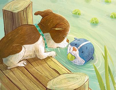 Land Dog. Sea Dog.