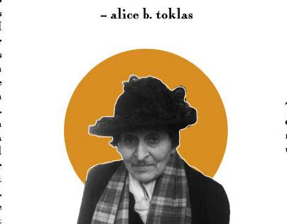 Toklas Quote