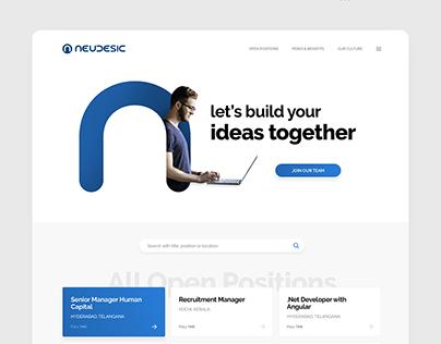 Career site for Neudesic