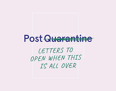 Post Quarantine — Identity design