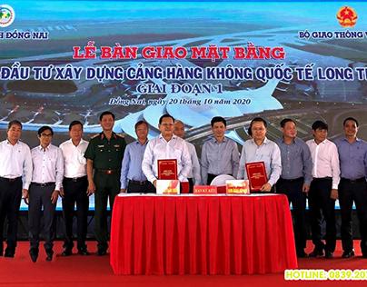 Bàn giao 1800ha đất xây dựng sân bay quốc tế Long Thành