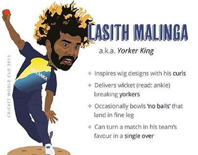 Lasith Malinga Projects Photos Videos Logos Illustrations And Branding On Behance