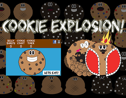 Cookie Explosion Mobile App Concept