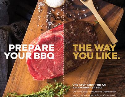 BBQ Meats Conceptual Art