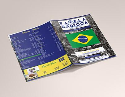 Conception d'un menu pour un restaurant brésilien