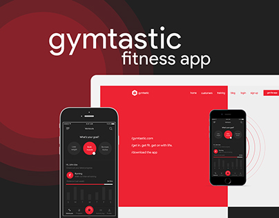 Gymtastic fitness app