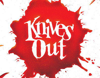 Knives Out - Movie Poster Design